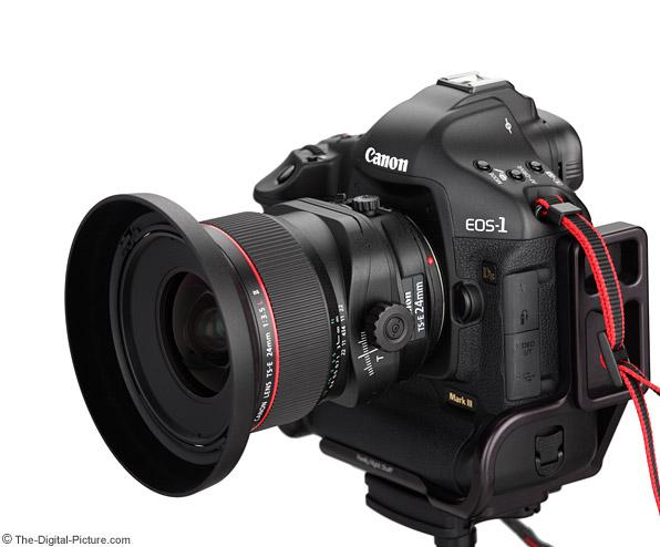 Canon TS-E 24mm f/3.5L II Tilt-Shift Lens On-Camera Product Images