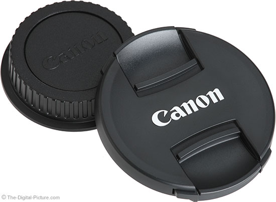 Canon TS-E 50mm f/2.8L Tilt-Shift Macro Lens Cap