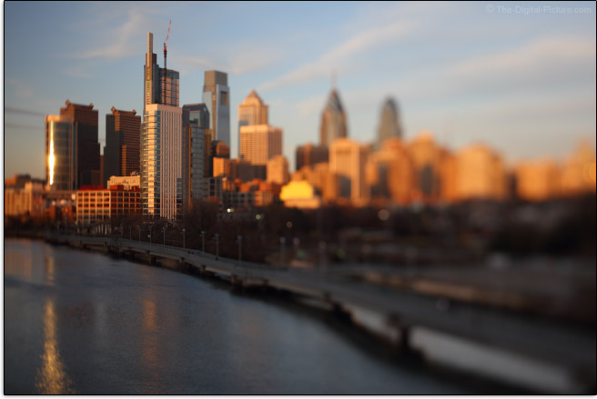 Tilt-Shift Lens Blur