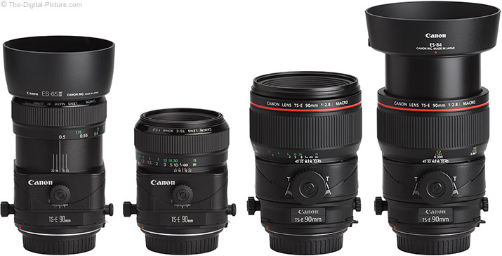 Canon TS-E 90mm f/2.8L Tilt-Shift Macro Lens Comparison – New vs. Old