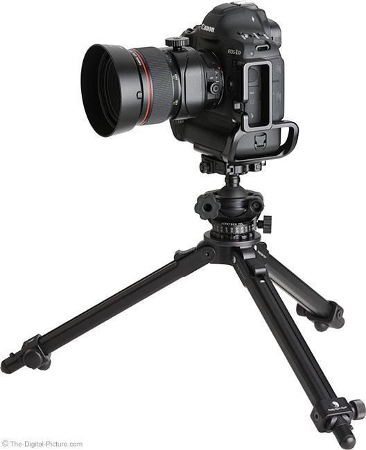 Canon TS-E 90mm f/2.8L Tilt-Shift Macro Lens on Tripod