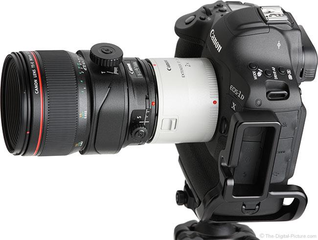 Canon TS-E 90mm f/2.8L Tilt-Shift Macro Lens with 2x Extender