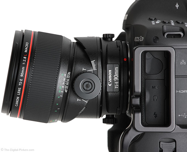 Canon TS-E 90mm f/2.8L Tilt-Shift Macro Lens