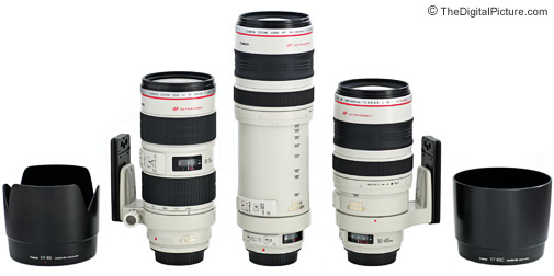 Canon Telephoto L Zoom Lens Comparison