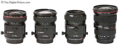 Canon Tilt-Shift Lenses