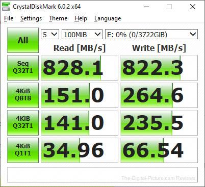 Crucial X6 Portable SSD CrystalDiskMark Report