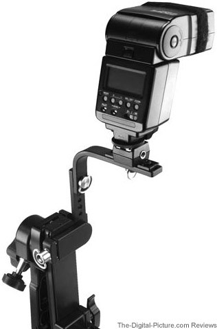 Custom Brackets GFM Gimbal Flash Mount