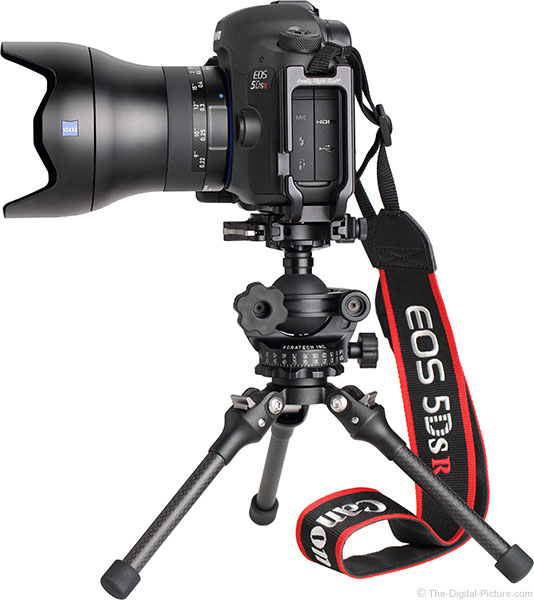 Feisol TT-15 Mini Tripod with Camera