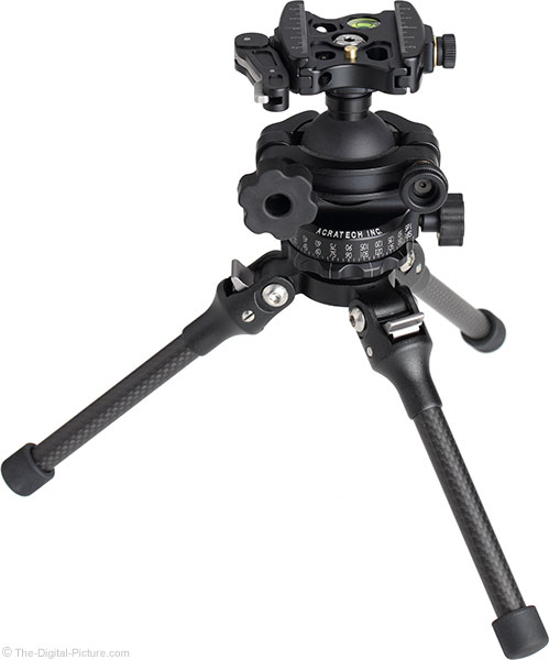 Feisol TT-15 Mini Tripod with Head, Angle View