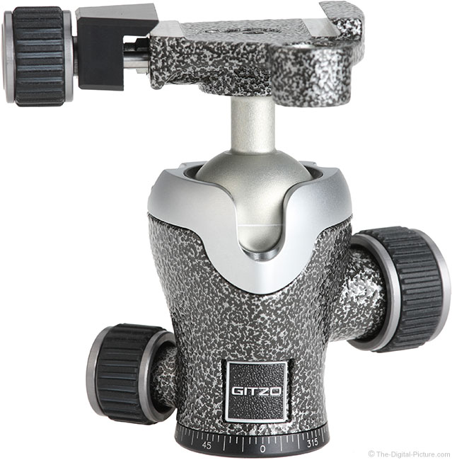 Gitzo GH1382TQD Series 1 Traveler Center Ball Head Front