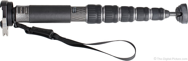 Gitzo GM4562 Series 4 Carbon Fiber Monopod with Quick-Release Clamp