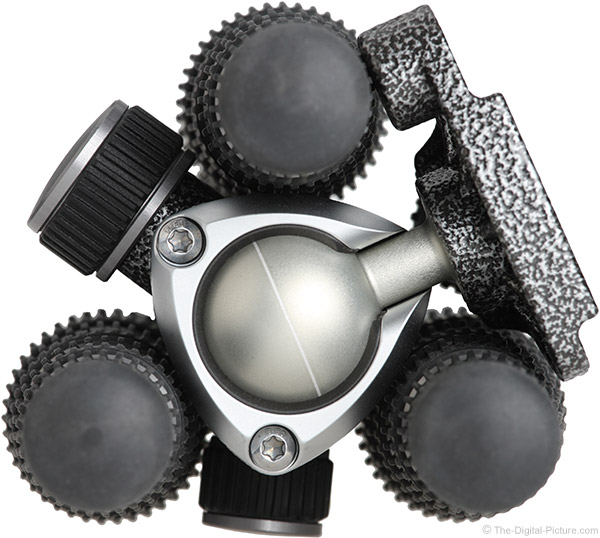 Gitzo GT1555T Traveler Carbon Fiber Tripod Folded Feet with Center One Ball Head