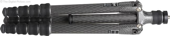 Gitzo GT1555T Traveler Carbon Fiber Tripod Folded