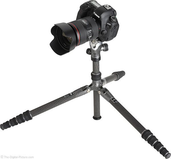 Gitzo GT1555T Traveler Carbon Fiber Tripod with Camera