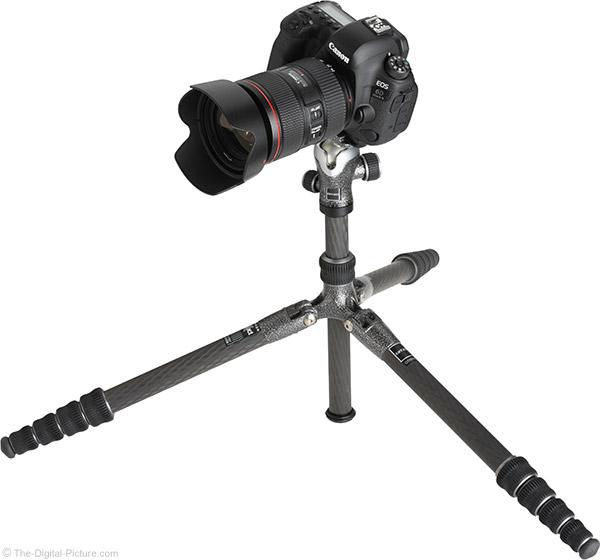 Gitzo GT1555T Traveler Carbon Fiber Tripod with Camera