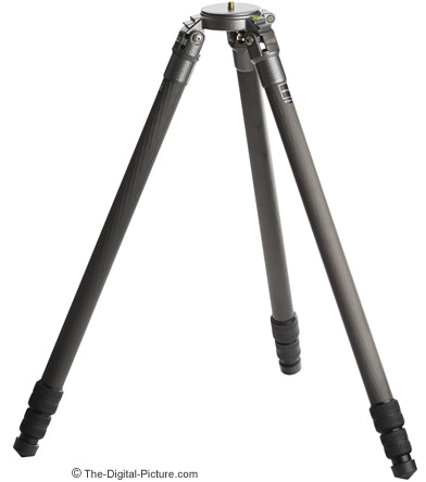 Gitzo GT3530LSV Tripod Retracted Setup