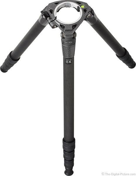 Gitzo GT3542LS Systematic Carbon Fiber Tripod with Top Plate Removed