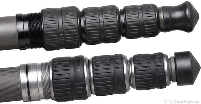 Gitzo GT3543LS Systematic Carbon Fiber Tripod Leg Locks