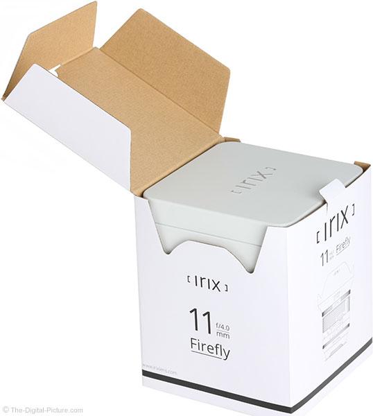 Irix 11mm f/4 Firefly Lens Box