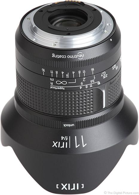 Irix 11mm f/4 Firefly Lens Mount