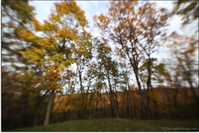 Irix 11mm f/4 Firefly Lens Maximum Blur Example