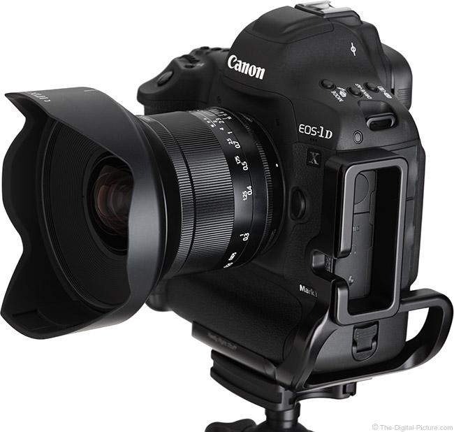 Irix 15mm f/2.4 Blackstone Lens Angle View with Hood