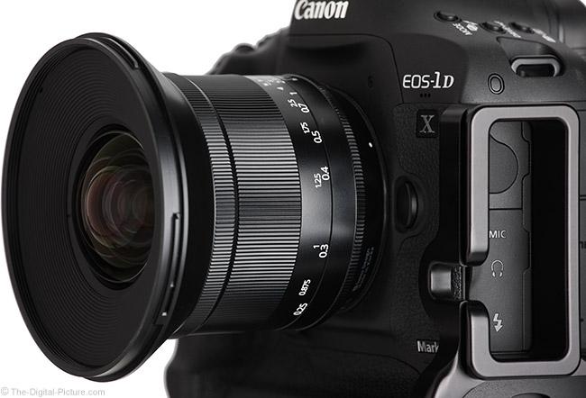 Irix 15mm f/2.4 Blackstone Lens Angle View