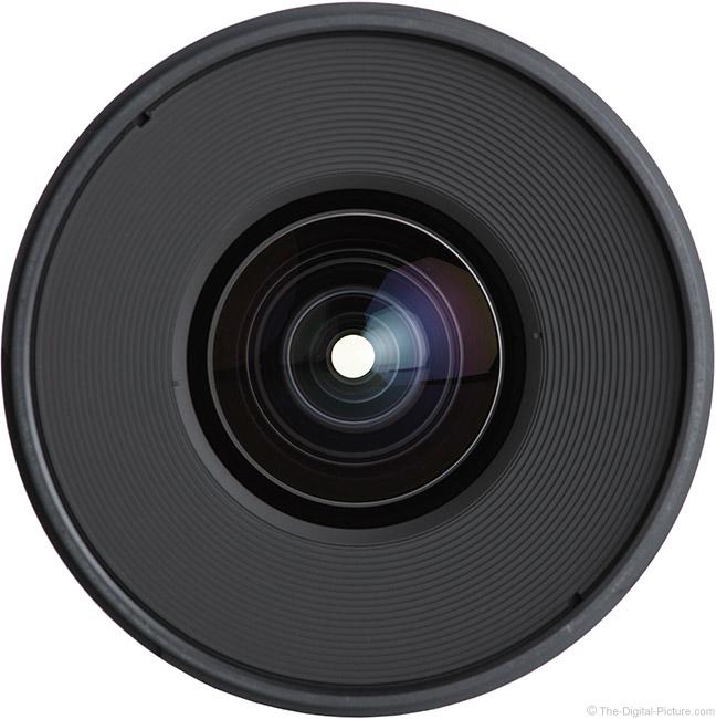 Irix 15mm f/2.4 Blackstone Lens Front View