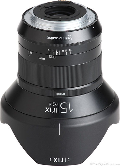 Irix 15mm f/2.4 Blackstone Lens Mount