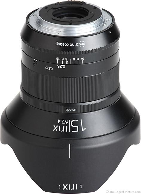 Irix 15mm f/2.4 Blackstone Lens Mount