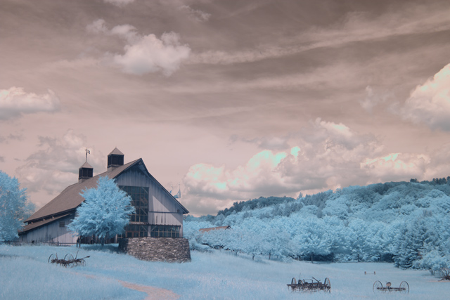 Vermont Guilford Welcome Center in IR SOOC