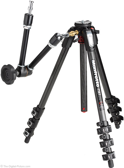 Manfrotto MT190CXPRO4 Tripod with Accessory Attached