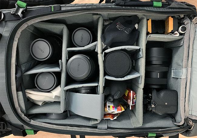 MindShift Gear BackLight Elite 45L Storage