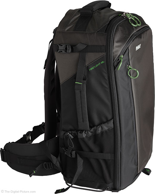 MindShift Gear FirstLight 40L Left-Side