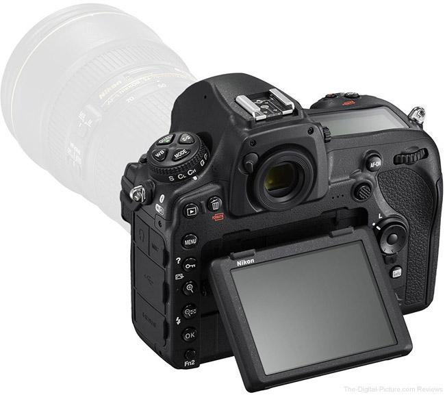 Nikon D850 LCD