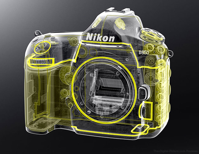 Nikon D850 Weather-Sealing