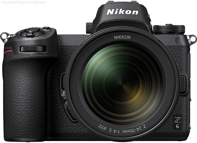 Nikon Z 6 Front with Z 24-70mm f/4 S Lens