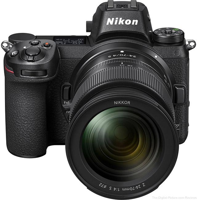 Nikon Z 6/7 Front Angle