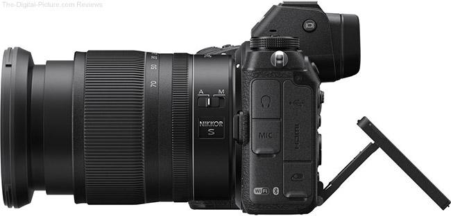 Nikon Z 6/7 LCD Side