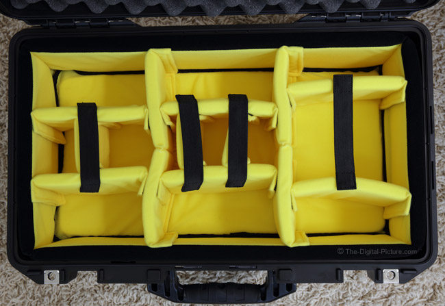 Pelican 1535 AIR Padded Dividers