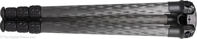 ProMediaGear TR344/TR344L Pro-Stix Carbon Fiber Tripod Folded