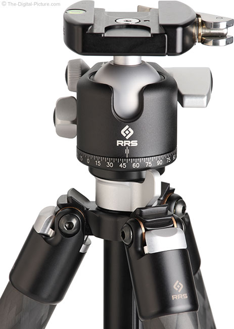 Really Right Stuff BH-40 Ball Head Close Up