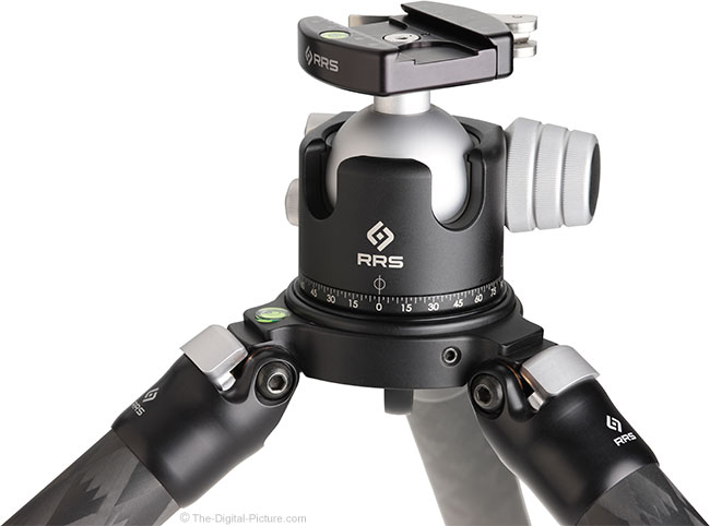 Really Right Stuff BH-55 Ball Head on Tripod