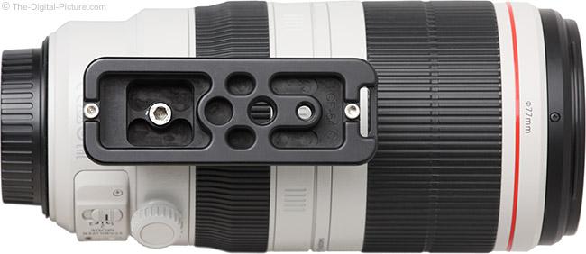 Really Right Stuff LCF-54 Foot on Lens – Bottom