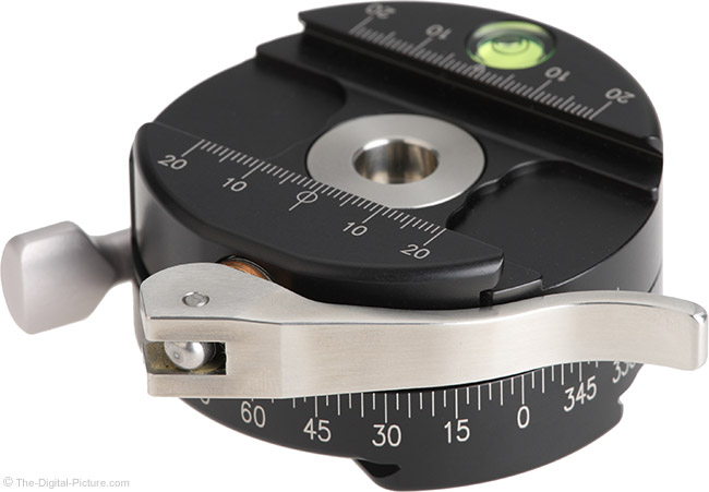 Really Right Stuff PC-LR Round Panning Clamp Angle