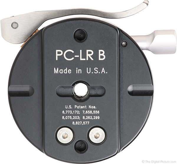 Really Right Stuff PC-LR Round Panning Clamp Bottom