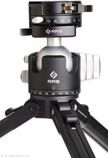 Really Right Stuff PC-LR Round Panning Clamp on Ball Head