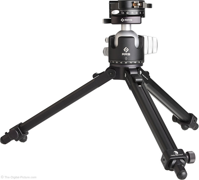 Really Right Stuff PC-LR Round Panning Clamp on Tripod
