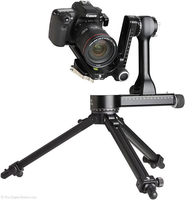 Really Right Stuff PG-02 Pano-Gimbal Head with Camera Full Gimbal-Mounted Using MPR-CL II