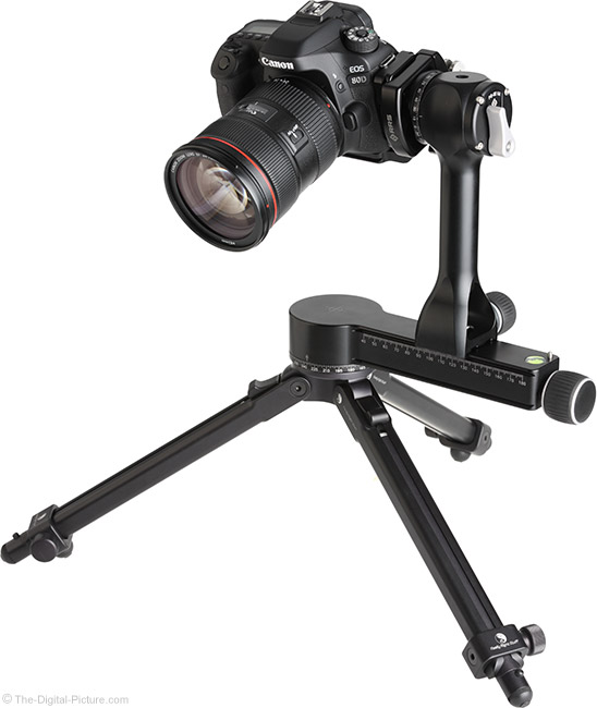 Really Right Stuff PG-02 Pano-Gimbal Head with Camera Side-Mounted